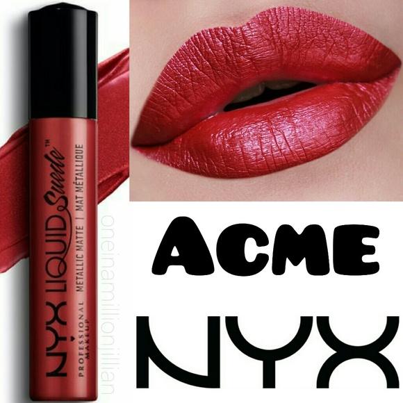 Nyx Makeup Liquid Suede Metallic Matte Acme Poshmark